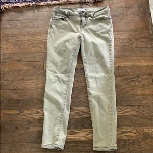 Free people cropped jeans size 26
